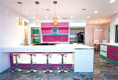 purple pink kitchen design ideas pink room decor how to beautify your home with pink