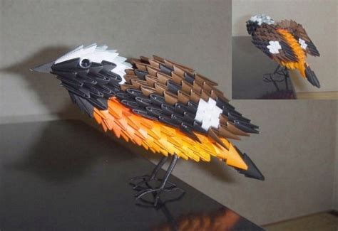 Origami 3d Bird - discover and save creative ideas