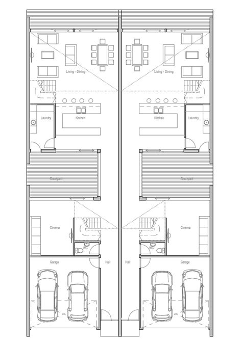 duplex house chd  modern contemporary architecture