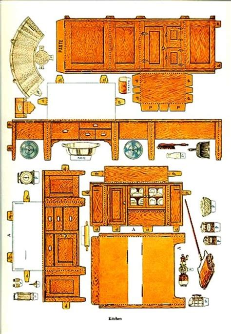 paper doll houses paper doll house furniture