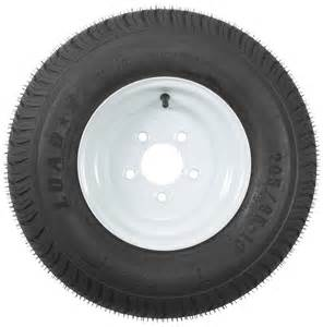 16 Inch Trailer Tires Load Range E Kenda 205 65 10 Bias Trailer Tire With 10 Quot White Wheel 5