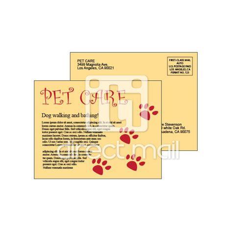6x9 postcard template economy postcards printed digitally iti direct mail