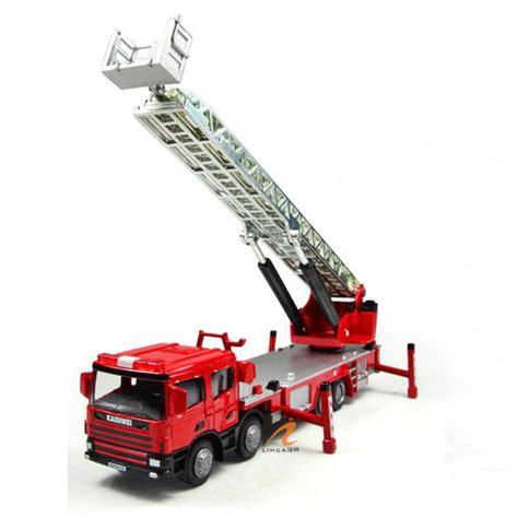 Diecast Truck Construction kdw 1 50 scale diecast ladder truck construction
