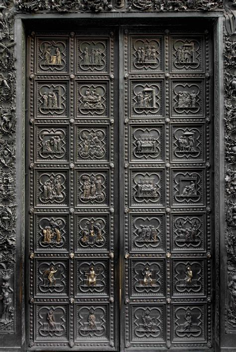 Door East by South Door Of Florence Baptistery To Move For Restoration