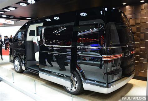 Harga Vans Story Indonesia tokyo 2015 toyota hiace platinum lounge revealed image 399876