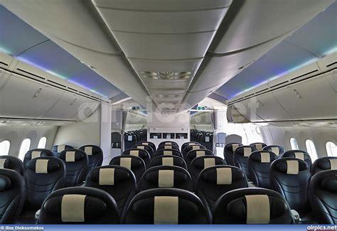 Dreamliner Premium Cabin by Airpics Net G Tuib Boeing 787 8 Dreamliner Thomson