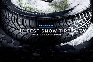 Best Truck Tires For Winter Driving 15 Best Winter Tires Gear Patrol