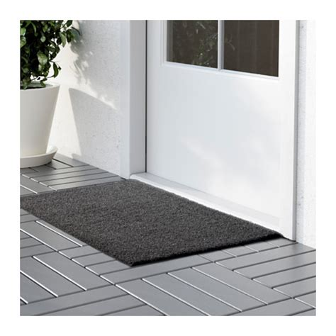 Grey Outdoor Doormat Oplev Door Mat In Outdoor Grey 50x80 Cm Ikea