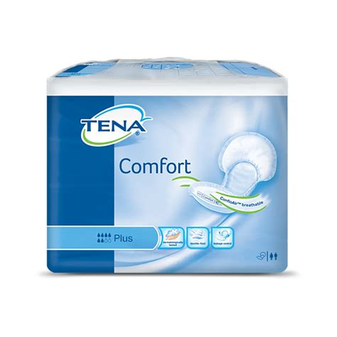 comfort pack tena comfort plus pack of 46 ebay