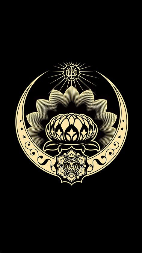 wallpaper iphone 6 obey obey lotus iphone wallpaper iphone5 wallpaper gallery