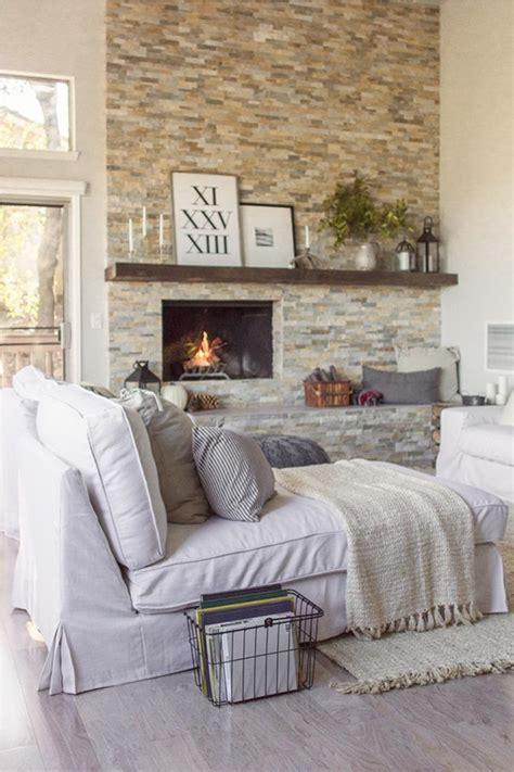 Steinwand Wohnzimmer Eine Gehobene Und Stilvolle Einrichtung