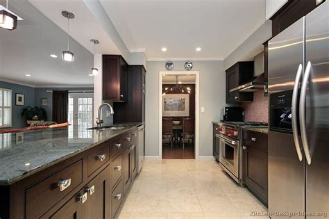 pictures of kitchens traditional espresso kitchen cabinets