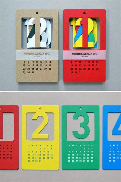 design calendar in html creative calendar design ideas for 2014 a unique wall