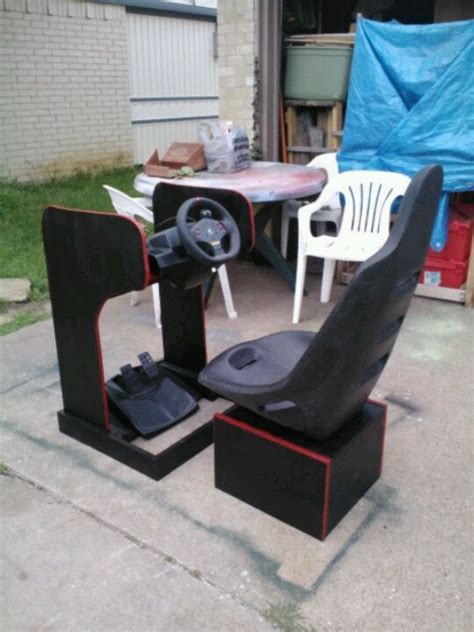 racing simulator chair plans 26 best images about racing simulator on