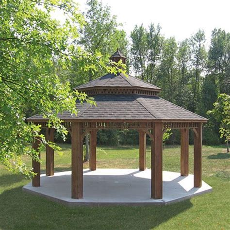 wood gazebo large wood gazebos country gazebos