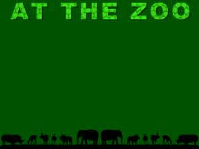 at the zoo powerpoint template 1 adobe education exchange