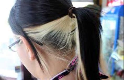 how to dye hair dark underneath musely
