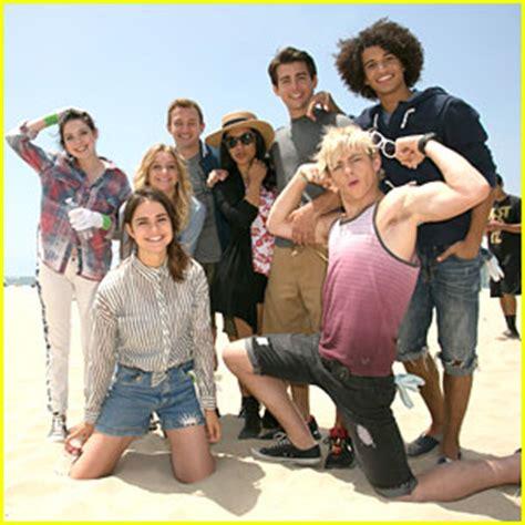 ross lynch 'heals the bay' with 'teen beach movie' cast