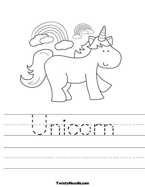 Preschool Unicorn Coloring Pages | u is for unicorn coloring page coloring pages