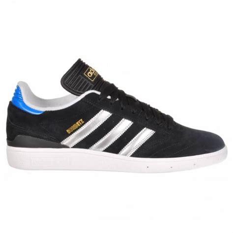 adidas skateboarding busenitz skate shoes black metallic