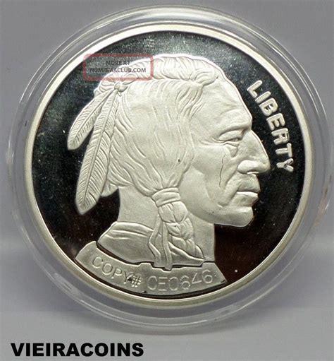 1 Troy Oz 999 Silver Indian Buffalo Bar - 2001 buffalo indian silver 1 troy oz 999