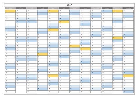 Calendrier 2007 Avec Lune Calendrier 2017 Excel Modifiable Et Gratuit Excel Malin