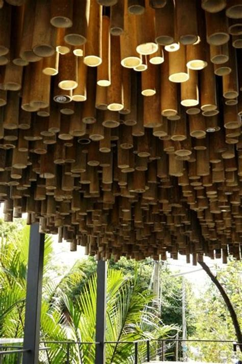 25 best ideas about bamboo ceiling on bamboo