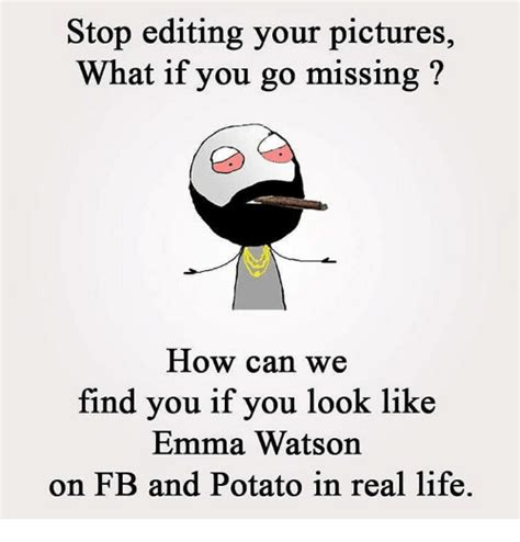 stop editing  pictures     missing