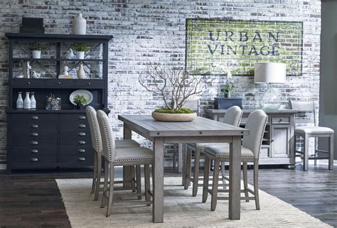 prospect hill dining table prospect hill gray rectangular counter height dining room