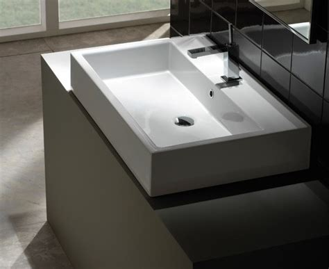 Robinet Lave 2385 by Lavabo 224 Poser Globo Classic 50 X 50
