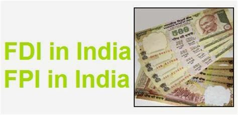 Essay On Fdi And Fii by Difference Between Fdi Fpi And Fii Notes On What Is Fdi What Is Fpi Types Of Fdi Types Of