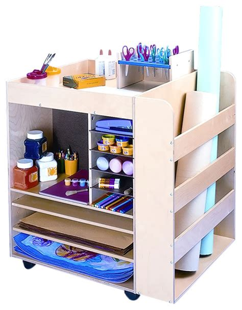 art supply storage cabinet whitney brothers home kids children art supply unit