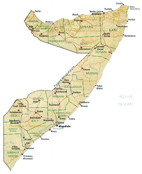 map of somalia map of somalia somalia maps mapsof net