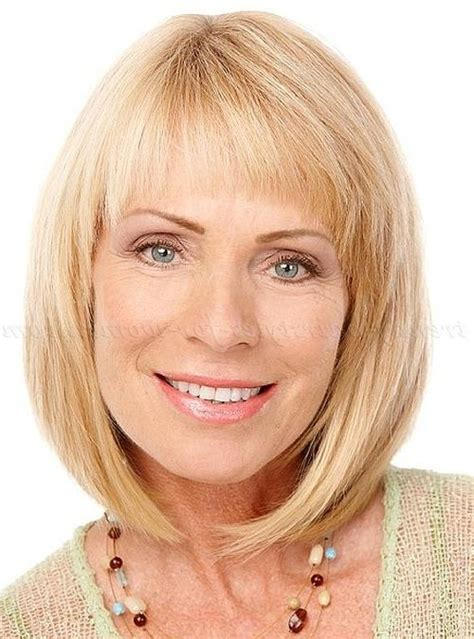 above shoulder length hairstyles with bangs medium length hairstyles with bangs over 50 life style