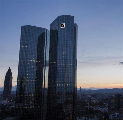 der deutschen bank abstieg so schlecht geht es der deutschen bank welt