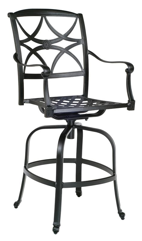 Wrought Iron Swivel Patio Chairs Wrought Iron Patio Furniture With Swivel Chairs Patio Design Ideas