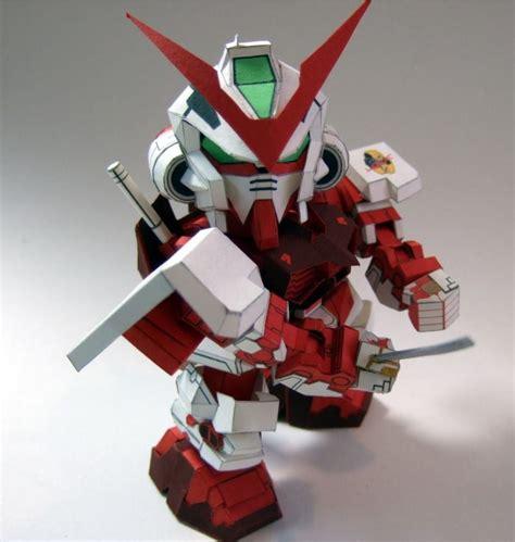 Sd Gundam Papercraft - gundam mbf po2 astray frame sd 2 po archives