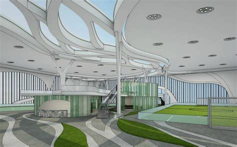 aspire sports complex qatar inhabitat green design