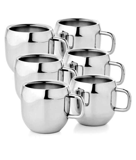 Cuppa App Notifies You When Your Tea Is Ready by Verow App 06 1 Steel Tea Cup 6 Pcs Buy At Best