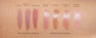 mac additions macnificent eyeshadow palette patentpolish lip pencils pro