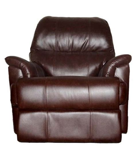 recliner upholstery cost westido furniture rio manual recliner in brown leatherette