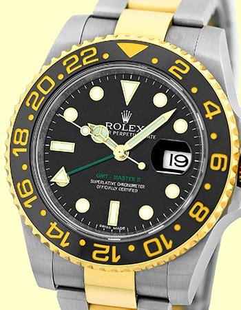 Rolex Gmt Master Ii Silver New rolex gmt master ii 116713 gold stainless steel