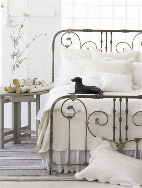 white wrought iron bed wrought iron bed white bedoom