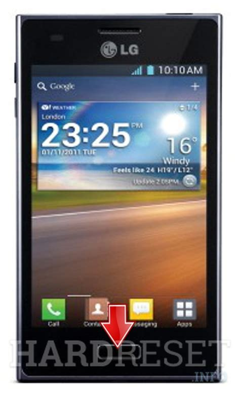 Hp Lg L5 Second reset lg e612 optimus l5 dk reset android phones