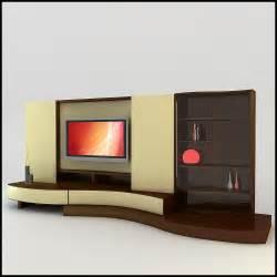 Modern Tv Wall Tv Wall Unit Modern Design X 17 3d Models Cgtrader Com