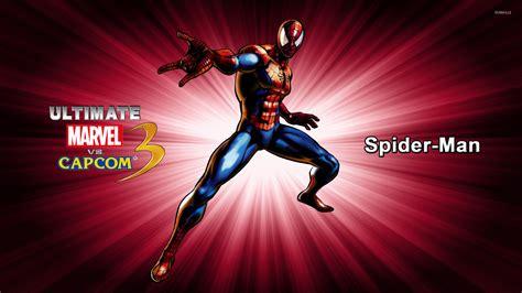 vs ultimate spider man ultimate marvel vs capcom 3 wallpaper game