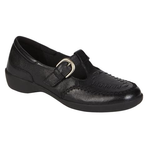 sears i love comfort shoes i love comfort women s leather loafer jiff black