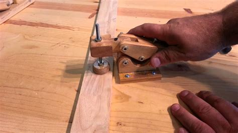 woodworking homemade hold  toggle clamps youtube