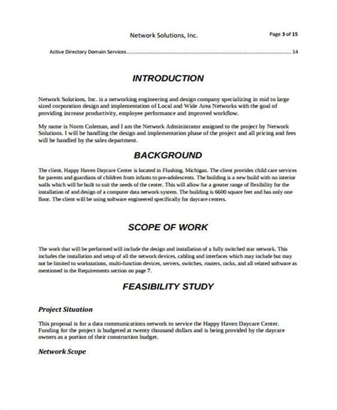 network design proposal template images template design free download