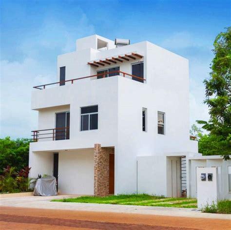imagenes de casas minimalistas de dos pisos fachadas minimalista de tres pisos casas peque 241 as